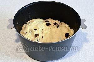 Кулич на йогурте: Поставила тесто в тепло