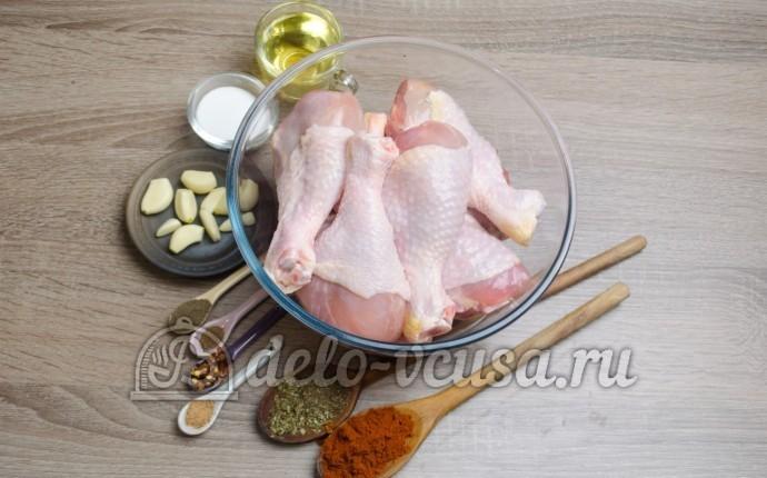 Куриные ножки в духовке: Ингредиенты
