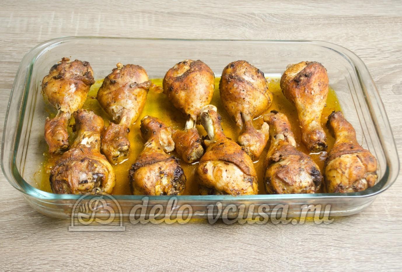 Куриные ножки в духовке рецепт с майонезом пошагово