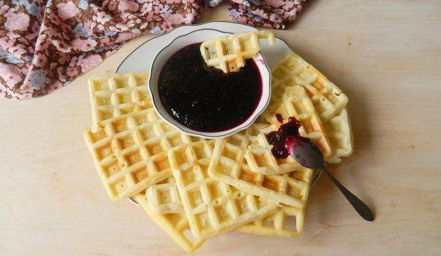 рецепт мягкие вафли в духовке рецепт