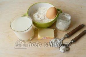 Мягкие вафли в вафельнице: Ингредиенты