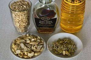 Мюсли с орехами и семечками: Ингредиенты