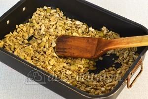 Мюсли с орехами и семечками: Выпекаем в духовке