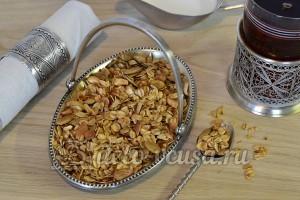 Мюсли с орехами и семечками