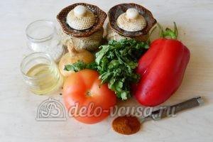 Овощной суп с рисом: Ингредиенты