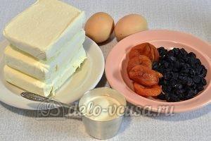 Пасха с изюмом и курагой: Ингредиенты