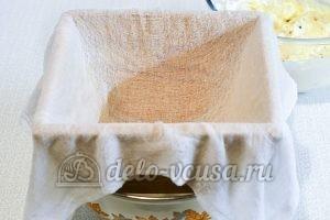 Пасха с изюмом и курагой: Подготовить форму