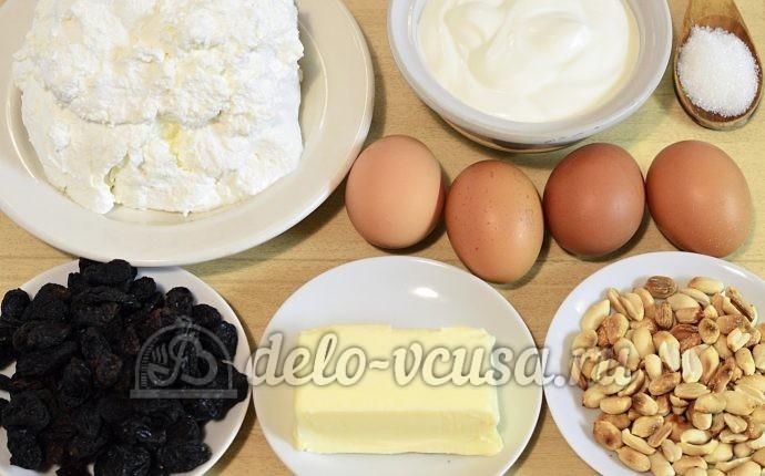 Царская пасха: Ингредиенты