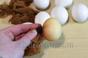 Пасхальные яйца с буквами: Закрепить картон