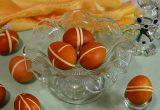 Пасхальные яйца в полоску