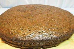 Пирог на кефире с вареньем: Вынуть из формы