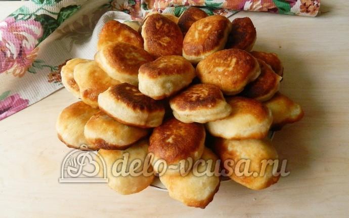 Жареные пирожки с мясом: фото блюда приготовленного по данному рецепту