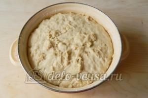 Жареные пирожки с мясом: Оставляем тесто увеличиваться в объемах