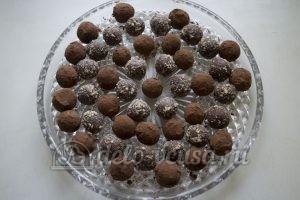 Шоколадные трюфели: Конфеты охладить