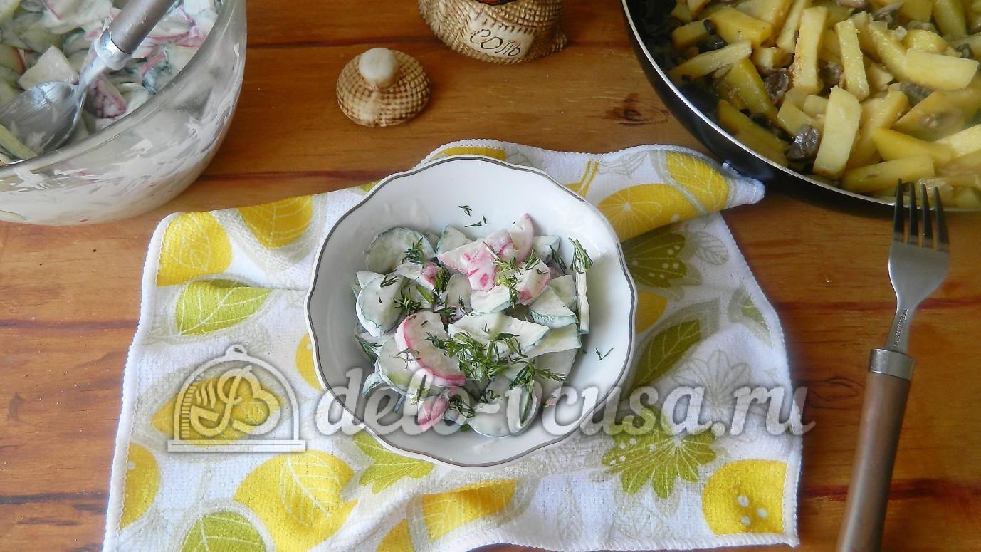 рецепт салата из крест салата