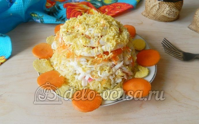 Салаты с вареной морковью рецепты с фото