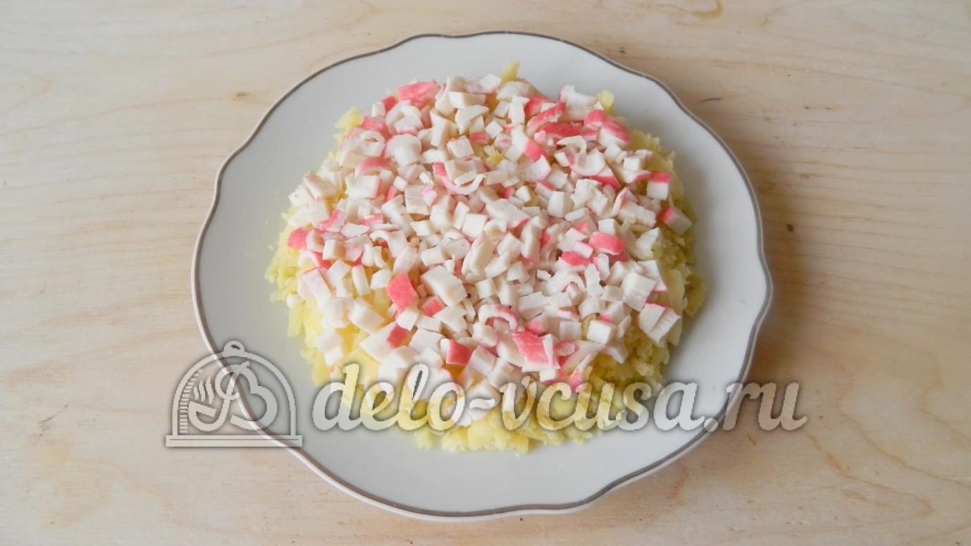 салат с креветками с яблоком и ананасом рецепт