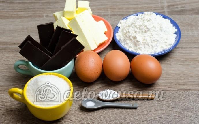 Шоколадный брауни: Ингредиенты