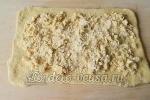 Слоеное бездрожжевое тесто: Добавляем первый вид теста