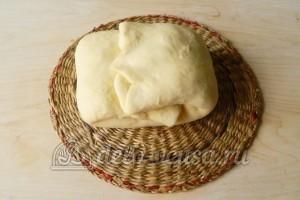 Слоеное бездрожжевое тесто: Завернуть края