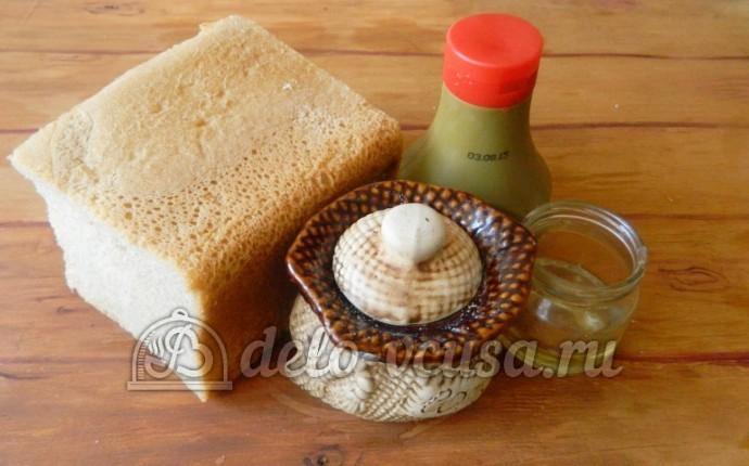 Сухарики с горчицей: Ингредиенты