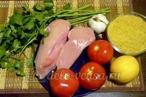 Томатно-куриный суп: Ингредиенты