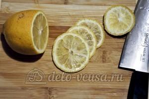 Томатно-куриный суп: Лимон порезать