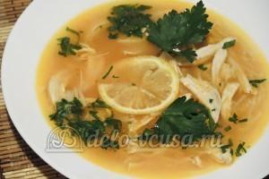 Томатно-куриный суп