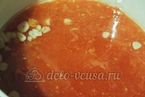 Томатно-куриный суп: Добавить помидоры