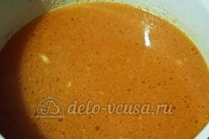 Томатно-куриный суп: Бульон добавить к томатам