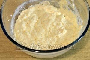 Сырники на кефире: Перемешать массу