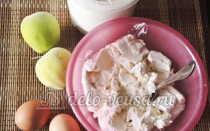 Сырники с яблоками: Ингредиенты