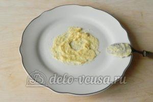 Торт Наполеон с заварным кремом: Блюдо смазать кремом