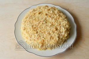 Торт Наполеон с заварным кремом: Украсить торт