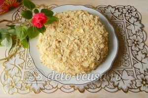 Торт Наполеон с заварным кремом
