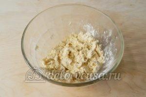Торт Наполеон с заварным кремом: Замесить тесто 1