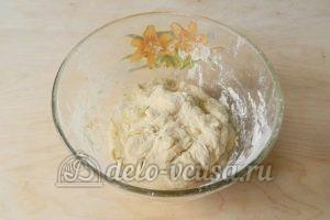 Торт Наполеон с заварным кремом: Замесить тесто 2