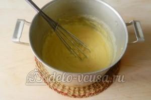 Заварной крем без масла: Варим крем