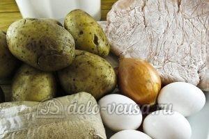 Зразы картофельные с курицей: Ингредиенты