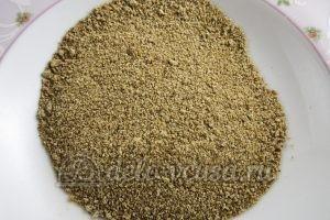 Зразы картофельные с курицей: Подготовить сухари