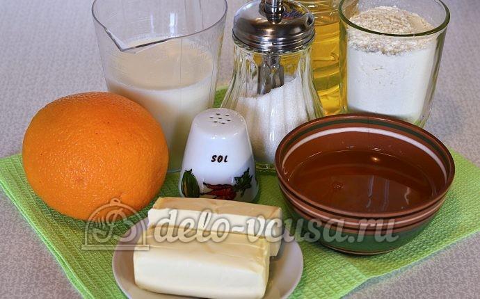 Пирог с апельсинами: Ингредиенты