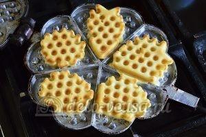 Бельгийские вафли: Жарим вафли