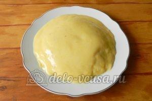 Блинный торт с заварным кремом: Формируем торт