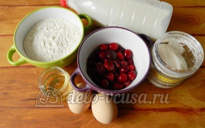 Блины с ягодами: Ингредиенты