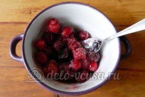 Блины с ягодами: Готовим начинку