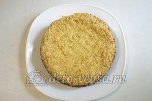 Королевская ватрушка с творогом: Готовый пирог убрать в холодильник