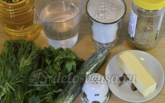 Кутабы из ржаной муки: Ингредиенты