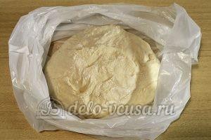 Кутабы с сыром и зеленью: Замесить тесто