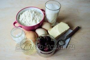 Маффины с черешней: Ингредиенты
