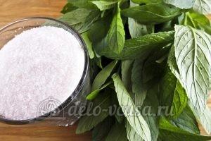 Мятный сахар: Ингредиенты